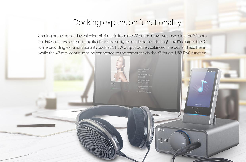 Fiio X7 info
